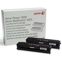Тонер-картридж для Xerox Phaser 3020, WorkCentre 3025 (106R03048) (черный) (2 шт)